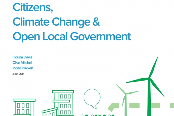 Can you hear me? Citizens, Climate Change & Open Local Government