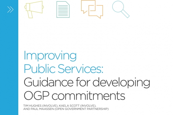 Improving public services through open government