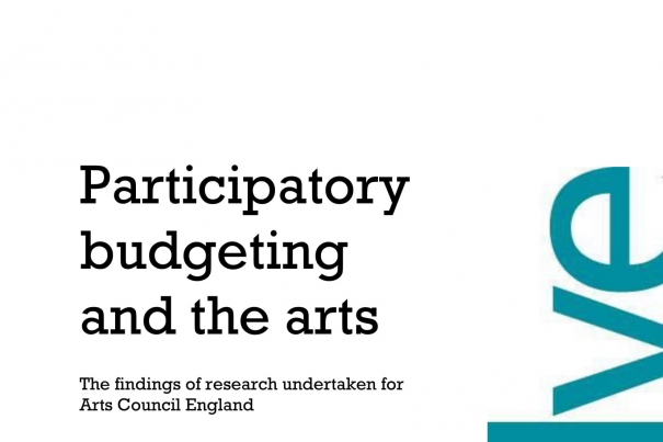 Participatory Budgeting and the Arts