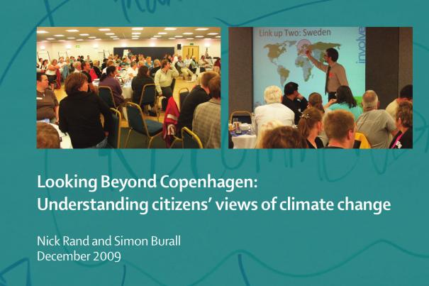 Looking Beyond Copenhagen: citizens' views of climate change